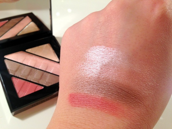Burberry Rose Pink Eye Palette Giveaway