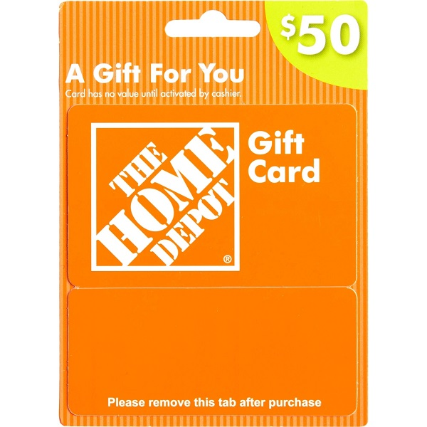 Home Depot/Amazon Gift Card Sweepstakes