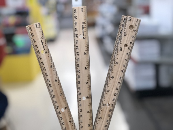 Free Meijer Plastic Binder Ruler At Meijer