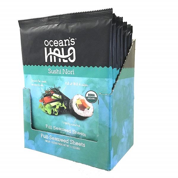 Free Ocean's Halo Organic Sushi Nori