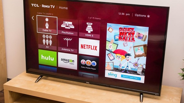 55-inch TCL 4K Roku Television Giveaway
