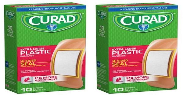 Free Curad Plastic Bandage At Dollar Tree