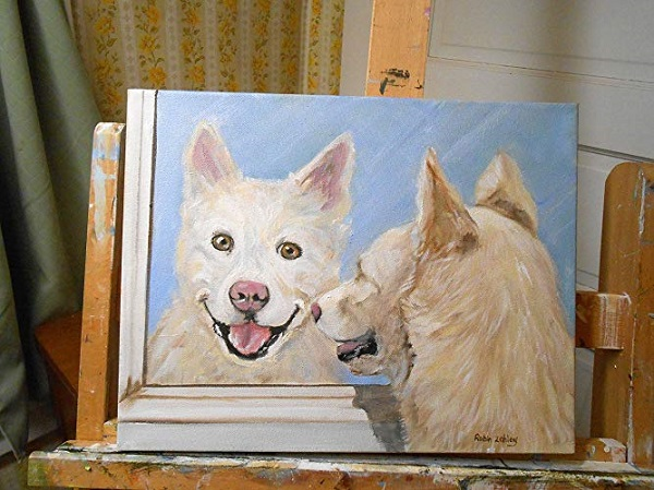 Handmade Pet Portrait From Your Photo Sweepstakes