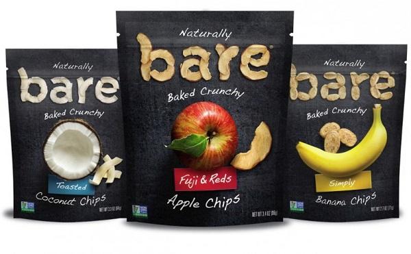 Free Bare Snacks Baked Crunchy Fruit Chips