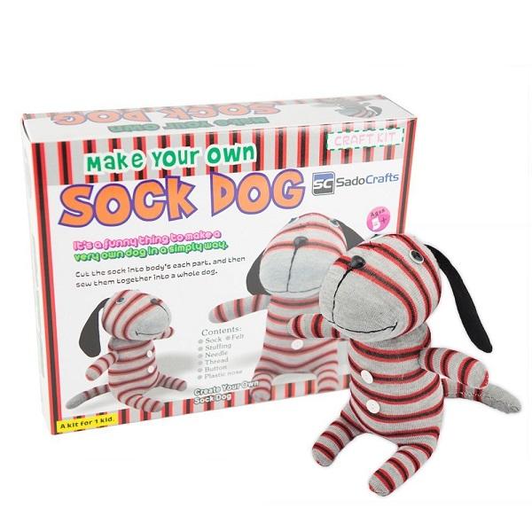 Free SadoCrafts Sock Dog Kit