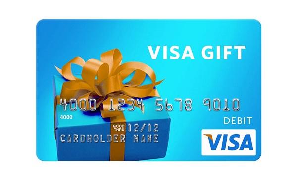 $50 Visa Gift Card Giveaway