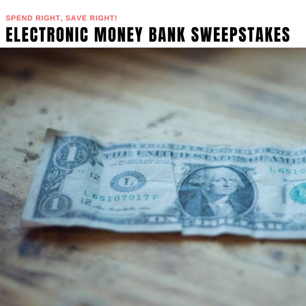 Electronic Money Bank Giveaway