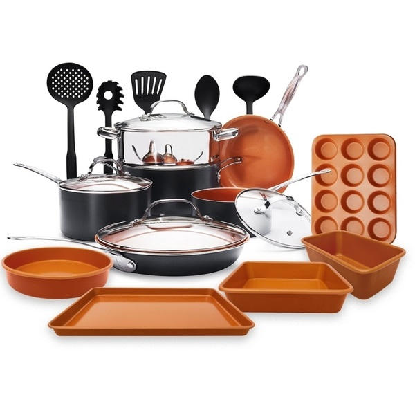 Gotham Steel 20 Piece All In One Kitchen Cookware Giveaway