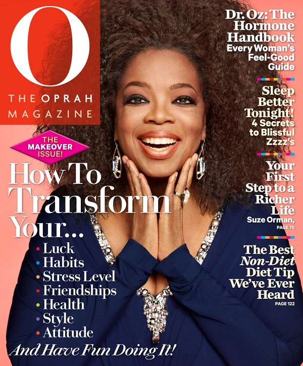 Complimentary Subscription To  O. The Oprah Magazine