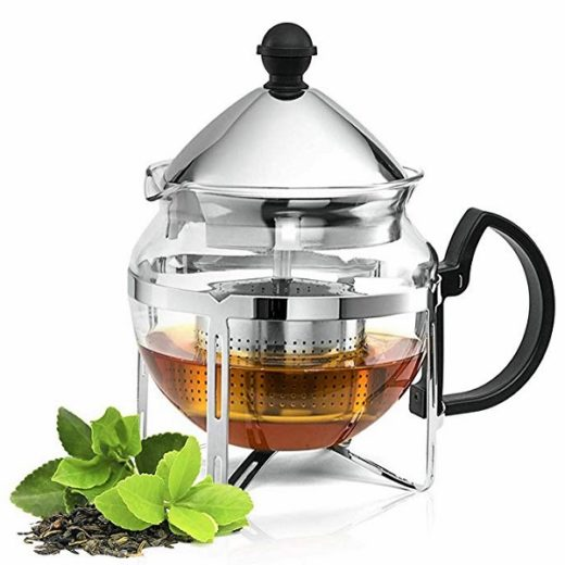 Chef's Star Glass Teapot With Infuser Giveaway