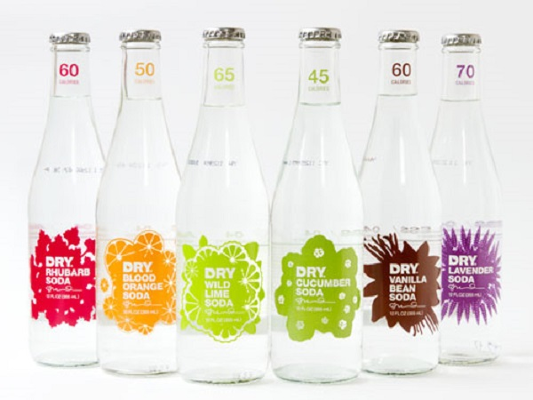 Free DRY Sparkling Soda