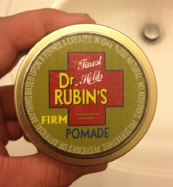Free Sample Of Dr. Rubin's Pomade, Lotion & Sticker