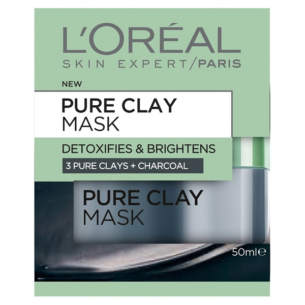 Free Sample Of L'Oreal Pure-Clay Charcoal Mask