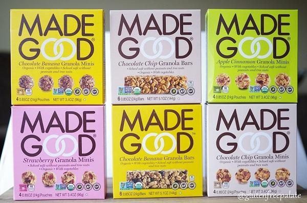 Free MadeGood Granola Bars