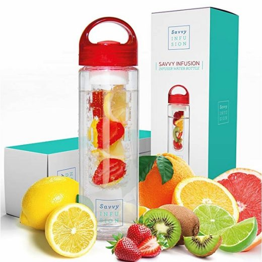 Savvy Infusion Water Bottle Giveaway