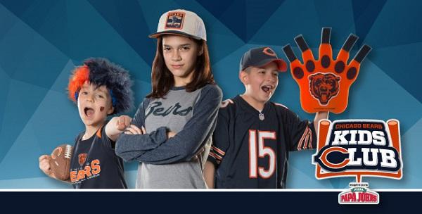 Free Chicago Bears Kids Club Kit