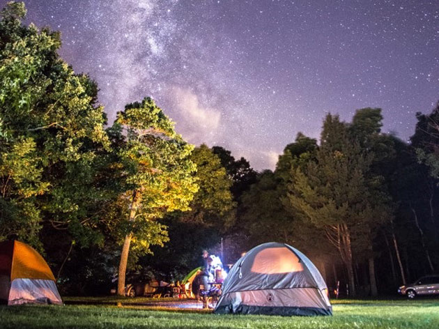 Family Camping Vacation Sweepstakes
