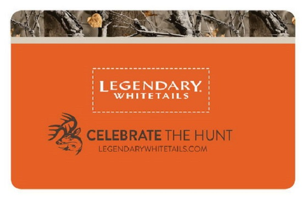 Free $25 Legendary Whitetails Gift Card