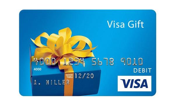 $1,000 Visa Card Giveaway