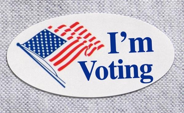 Free I'm Voting Stickers