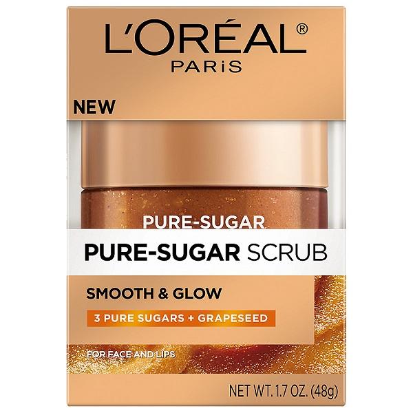 Free Sample of L'Oreal Pure-Sugar Grapeseed Scrub