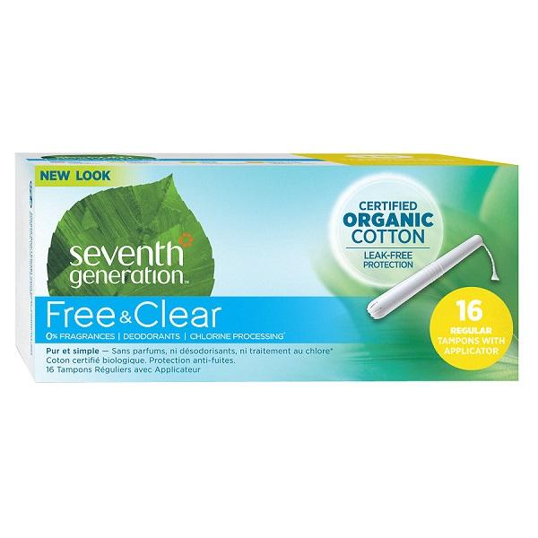 Free Seventh Generation Tampon & Pad Sample Kit