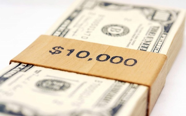 $10,000 Check Giveaway
