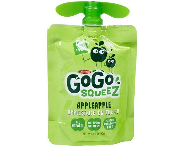Cases of GoGo Squeez Applesauce Giveaway