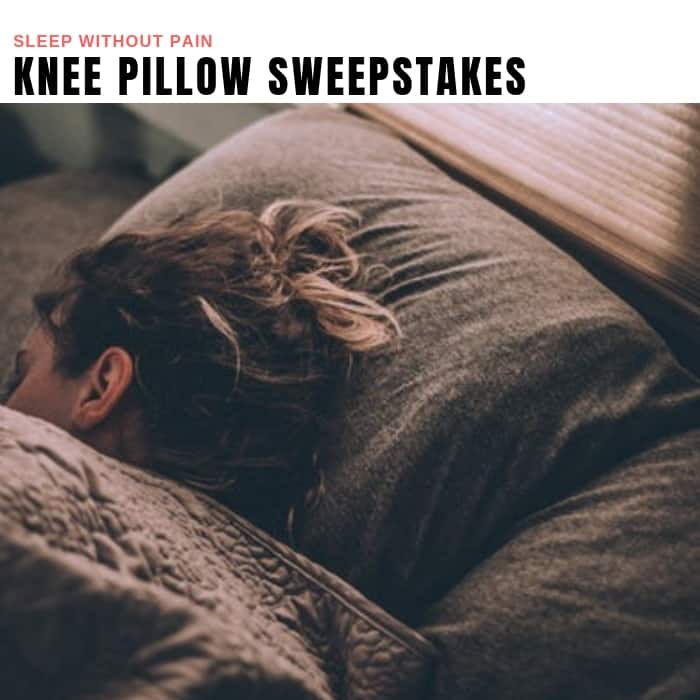 Knee Pillow Sweepstakes