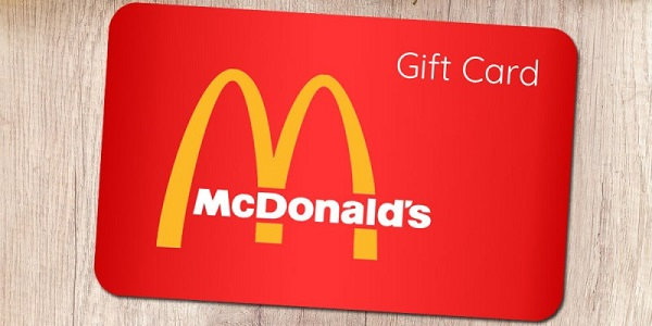 $5 McDonald's Arch Card Giveaway