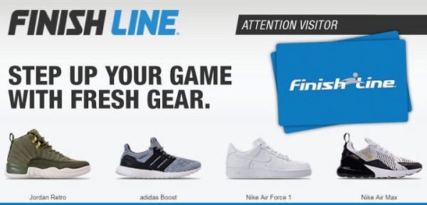 $500 Finish Line Gift Card Giveaway