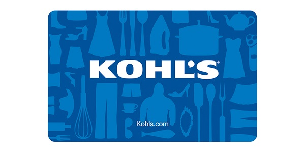 $100 Kohl's e-Gift Card Giveaway