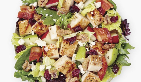 Free Harvest Chicken Salad With Any Purchase at Wendy's