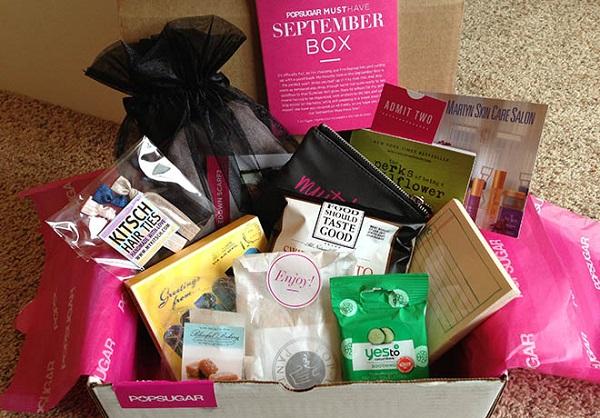 Free Beauty by POPSUGAR Sampling Box