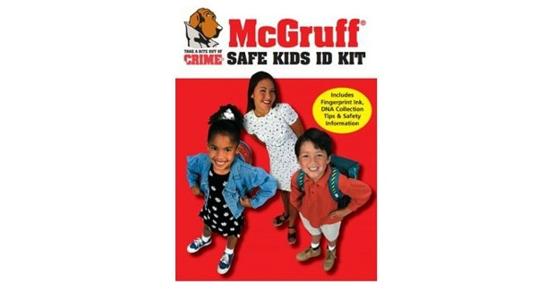Free McGruff Safe Kids ID Kit