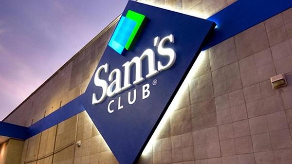 Free Blue Stop at Sam's Club