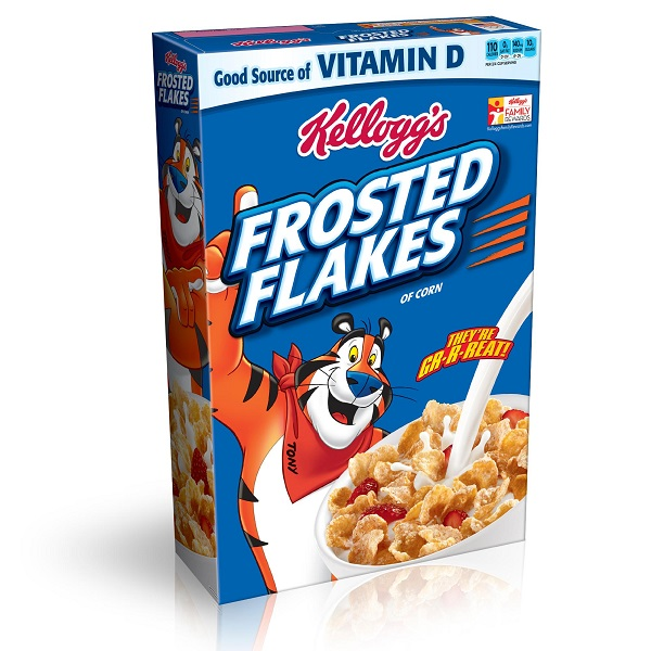 Personalized Kellogg's Frosted Flakes Cereal Boxes Giveaway