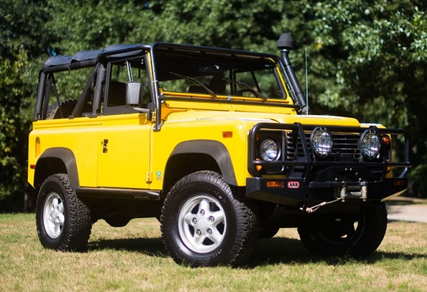Fully Restored 1995 Land Rover Defender 90 Sweepstakes