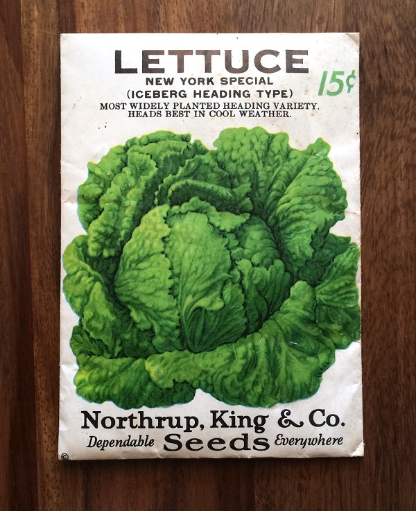 Free Packet of Lettuce Seeds