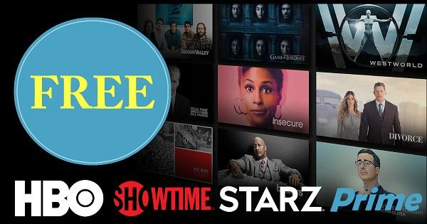 35 Days of Free Premium TV & Movie Trials on Amazon