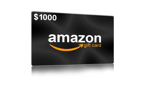 $1000 Amazon Gift Card Sweepstakes