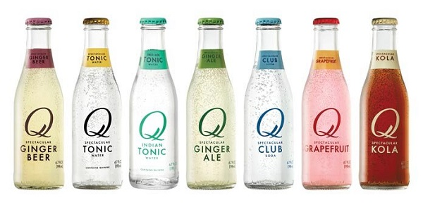 Free Sample of Q Drinks Carbonated Mixer Beverage