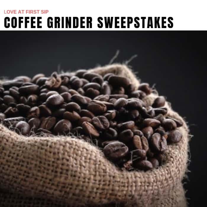 Coffee Grinder Sweepstakes