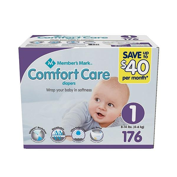 Free Member's Mark Comfort Care Baby