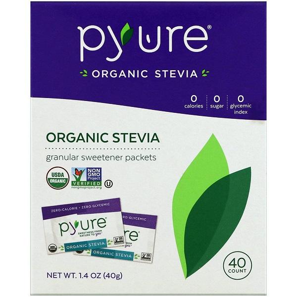 Free Sample of Pyure Organic Stevia Sweetener