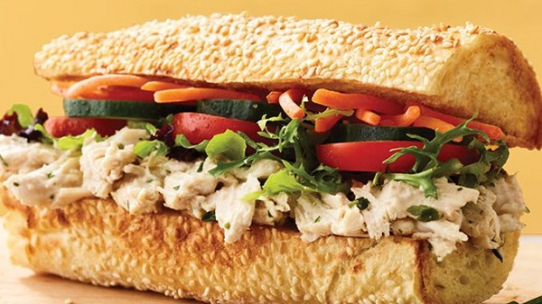 Free Sandwich or Salad from Au Bon Pain