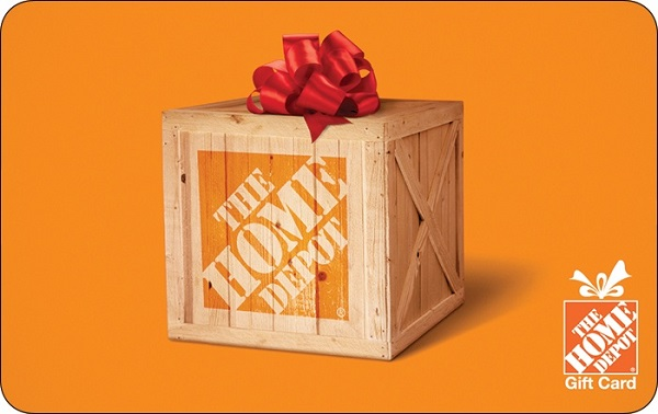 $1,000 The Home Depot Gift Card Giveaway