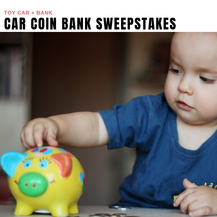 Car Coin Bank Sweepstakes