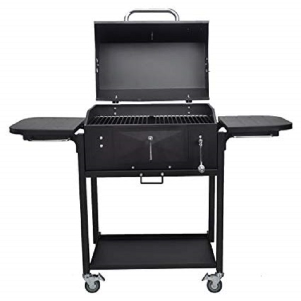 Charcoal BBQ Grill with Base & Side Shelf Giveaway