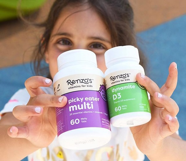 Free Sample of Renzo's Vitamins for Kids